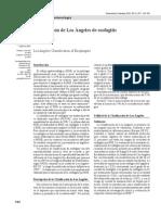 Clasificacion de Los Angeles de Esofagitis