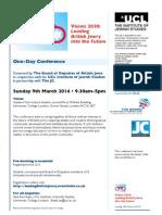 Conference Programme Vision 2020