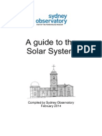 A guide to the Solar System - by the Sydney Observatory
