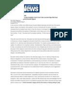 Alberto Gonzales Files -USNews - A General Rebellion
