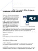 Phil Rasori of MCT to Participate in CMLA Session on Washington Lending Legislation