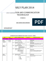 ICT Form 5 Yearly Plan 2014