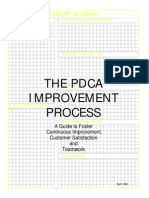The PDCA Improvement Process