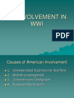 us involvement in wwi
