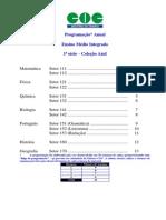 Conteudo Programatico 1 Serie Ensino Medio