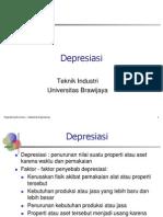 Ekonomi Teknik 10 - Depresiasi