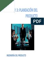 Cap.3_PLANEACIÓN DEL PRODUCTO