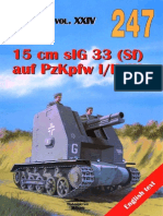Wydawnictwo Militaria 247 15 Cm sIG 33 (Sf) Auf PzKpfw I II III