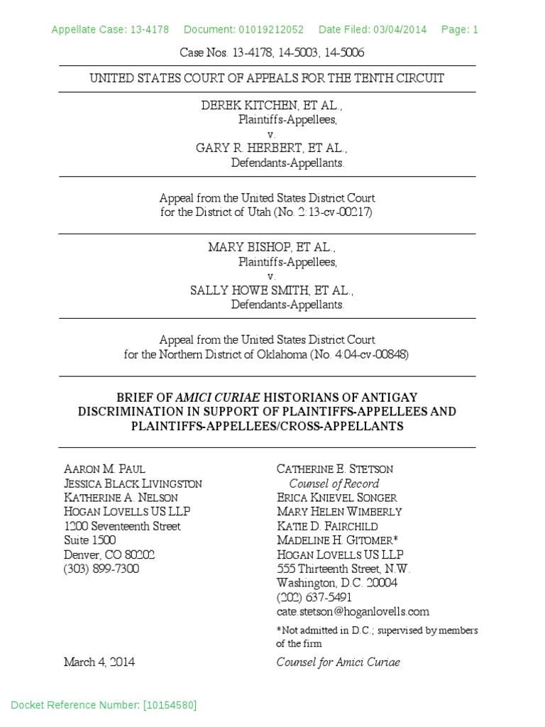 Amicus Brief Opposing Alabama Anti-Immigrant Law Filed