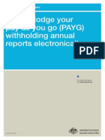 How to Lodge Your PAYG Electronically