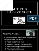 Active & Passive Voice 2