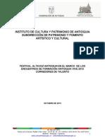Altavoz Antioquia 2013 Lineamientos Participacion