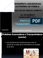 PROTEINAS TRANSPORTADORAS