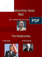 a relationship goes bad