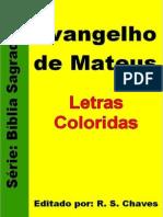 40 - Biblia Sagrada - Evangelho de Mateus PDF