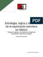 Estrategia Logros y Desafios de La Exploracion Petrolera en Mexico