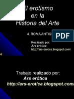 Roma Antigua El Erotismo en La Historia Del Arte