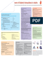 Joint British Diabetes Societies Inpatient Care Group - The Management of Diabetic Ketoacidosis in Adults - Pathway Poster