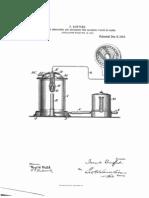 Medio para indicar y registrar el valor calorífico de los gases