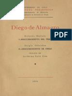 Diego de Almagro. 1954