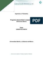Unidad 2. Analisis Basico de Circuitos Alimentados Por CD