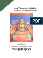 48022396 Chakzampa Thangtong Gyalpo Mahasiddha