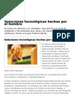 Soluciones tecnológicas hechas por el hombre _ Herramientas _ Icarito