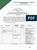 daftar CPNS LKPP 2013