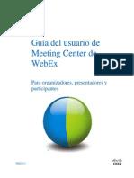 Guia Usuario Webex Meeting Center