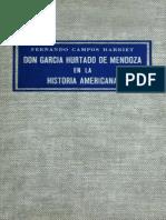 Don García Hurtado de Mendoza en la historia americana