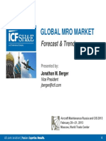 2013 Global MRO Market Forecast and Trends February 2013