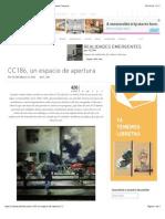 CC186, Un Espacio de Apertura - Cultura Colectiva - Cultura Colectiva