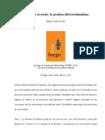 Asombrar-La-noche Manda Fuego - Alberto Chimal