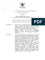 PMK No. 73 Ttg Jabatan Fungsional Umum Di Kementerian Kesehatan