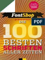 FontShop 100 Beste Schriften