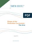 acara curriculum arts document