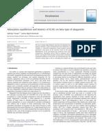 Adsorption Equilibrium and Kinetics of U(VI) on Beta Type of Akaganeite
