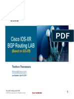 Ios-xr Ospf and Bgp Training Lab Rev1a - Apr 2011