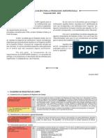 Protocolo de Bpa Para La Produccion Hortofruticola