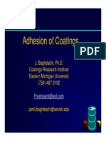 Adhesion of Coatings