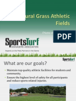 Natural Grass Athletic Fields Ppoint Final