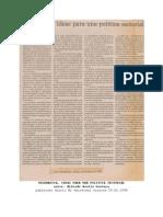 13 Telematica Ideas Una Politica Sectorial 29.01.1994