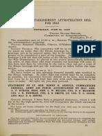 Military Appropriation Bill - 27 Jun 1942