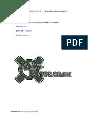 APM 2 5 Arducopter Guide v1 4 | Magnetometer | Electrical