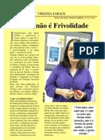 Entrevista VIRGINIA SABACK - Pagina Amarela