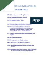 Freud Cronologia