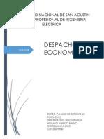 DESPACHO ECONOMICO - INFORME