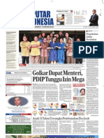 EPaper Harian Seputar Indonesia 15 Oktober 2009