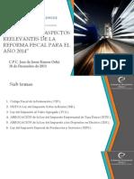 Afectaciones Reformas Fiscales 2104 en Los Contribuyentes