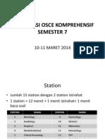 Sosialisasi Osce Semester 7